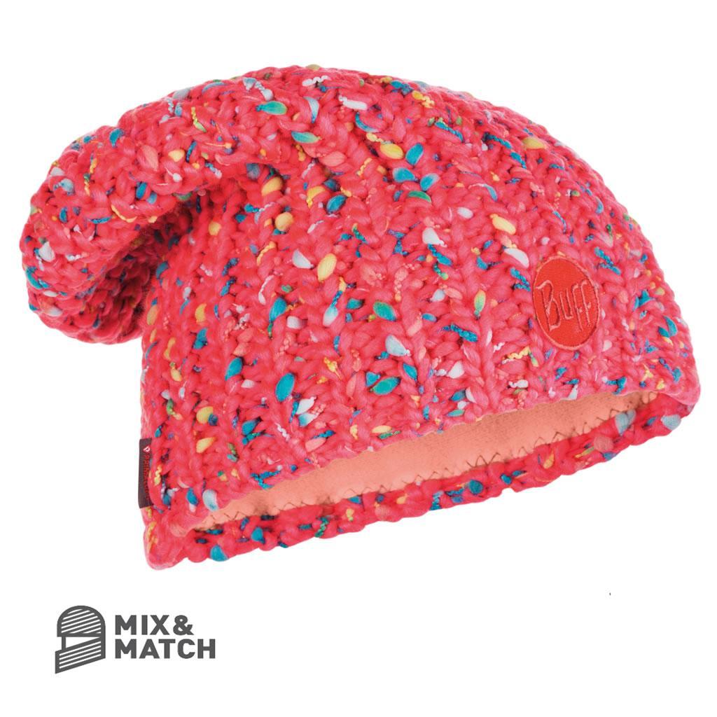 da43c5972395 v15.gr-Yssik Knitted Hat Pink Fluor-Buff