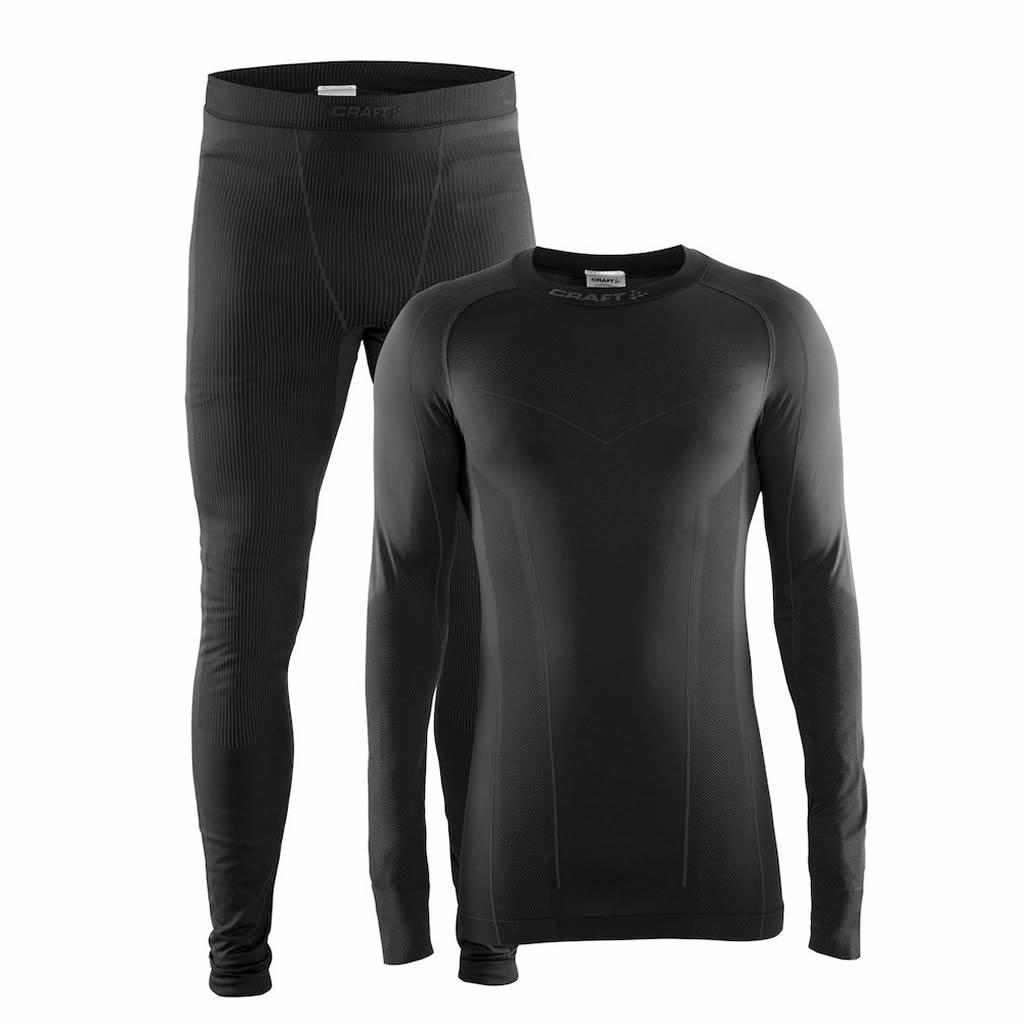 Mens Baselayer Seamless Zone Set Black Granite c3efb1cdeae